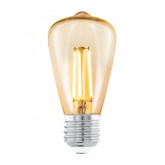EGLO 11553 | E27 3,5W -> 22W Eglo Edison ST48 LED fényforrás filament 220lm 2200K 360° CRI>80