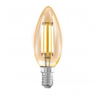 EGLO 11557 | E14 4W -> 22W Eglo gyertya C35 LED fényforrás filament 220lm 2200K 360° CRI>80