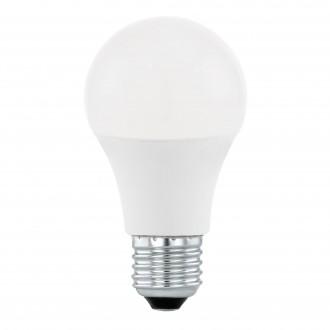 EGLO 11562 | E27 10W -> 60W Eglo normál A60 LED fényforrás Step Dim. 806lm 4000K szabályozható fényerő impulzus kapcsoló 200° CRI>80