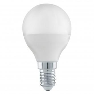 EGLO 11583 | E14 6W -> 40W Eglo kis gömb P45 LED fényforrás Step Dim. 470lm 3000K szabályozható fényerő impulzus kapcsoló CRI>80