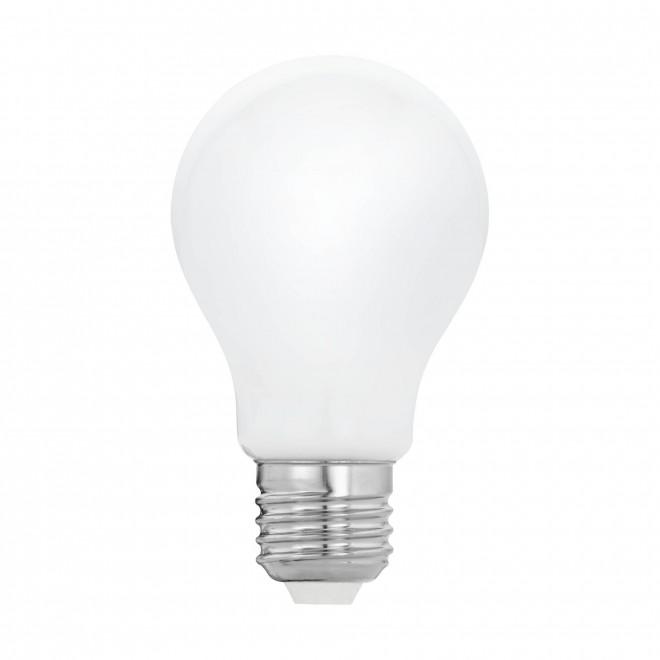 EGLO 11595 | E27 5W -> 40W Eglo normál A60 LED fényforrás filament, milky 470lm 2700K 360° CRI>80