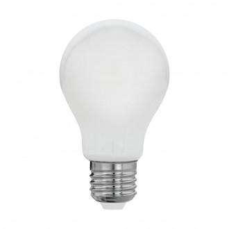 EGLO 11596 | E27 8W -> 60W Eglo normál A60 LED fényforrás filament, milky 806lm 2700K 360° CRI>80
