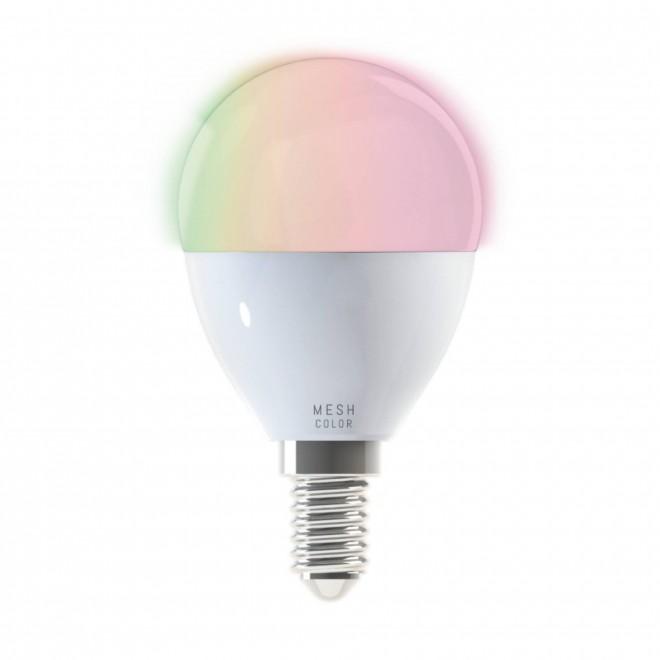EGLO 11672 | E14 5W -> 38W Eglo kis gömb P50 LED fényforrás okos világítás 400lm 2700 <-> 6500K szabályozható fényerő, állítható színhőmérséklet, színváltós CRI>80