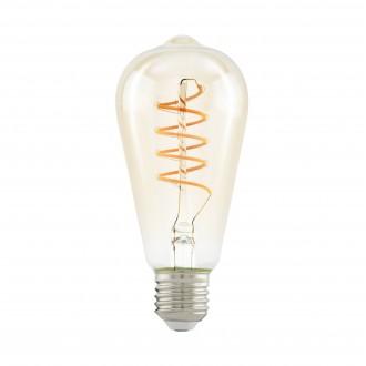 EGLO 11681 | E27 4W -> 25W Eglo Edison ST64 LED fényforrás filament, Spiral 260lm 2200K 360° CRI>80