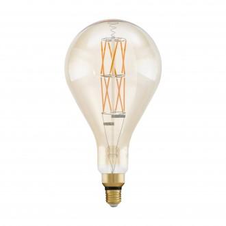 EGLO 11686 | E27 8W -> 60W Eglo PS160 LED fényforrás filament, BigSize 806lm 2100K szabályozható fényerő 360° CRI>80