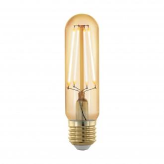 EGLO 11697 | E27 4W -> 30W Eglo henger T32 LED fényforrás filament, golden age 320lm 1700K szabályozható fényerő 360° CRI>80
