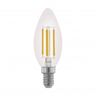 EGLO 11704 | E14 3,5W -> 32W Eglo gyertya C35 LED fényforrás filament 350lm 2700K szabályozható fényerő 360° CRI>80