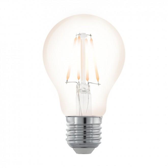 EGLO 11705 | E27 4W -> 35W Eglo normál A60 LED fényforrás filament, northern lights 390lm 2200K szabályozható fényerő 360° CRI>80