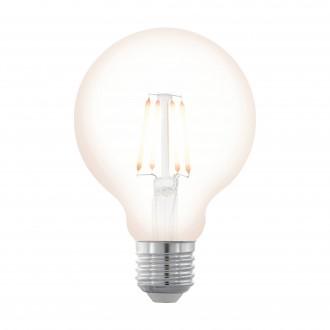 EGLO 11706 | E27 4W -> 32W Eglo nagy gömb G80 LED fényforrás filament, northern lights 390lm 2200K szabályozható fényerő 360° CRI>80
