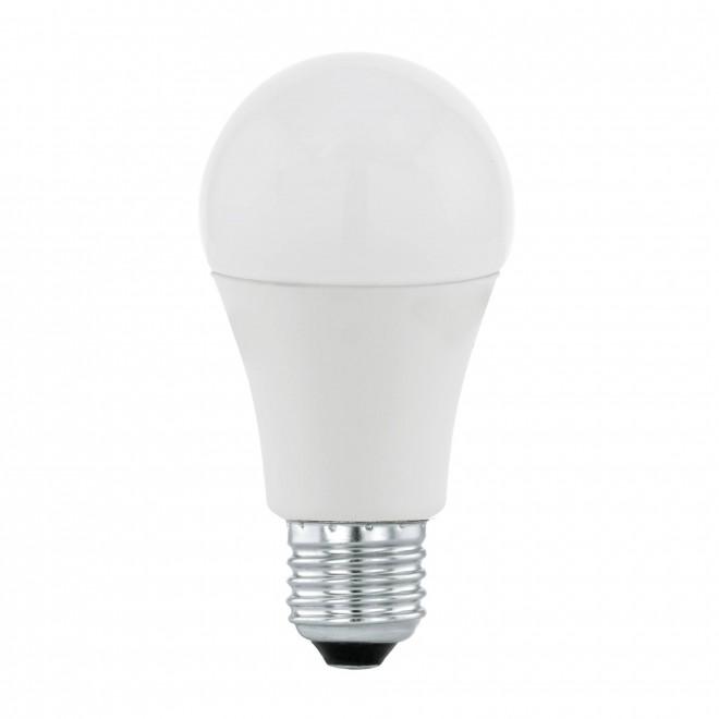 EGLO 11714 | E27 9,5W -> 60W Eglo normál A60 LED fényforrás Day & Night 806lm 3000K fényérzékelő szenzor - alkonykapcsoló 170° CRI>80
