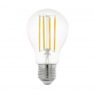 EGLO 11755 | E27 8W -> 75W Eglo normál A60 LED fényforrás filament 1055lm 2700K 320° CRI>80
