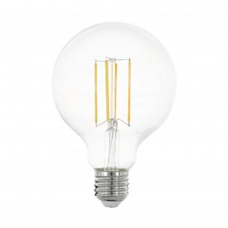EGLO 11756 | E27 8W -> 75W Eglo nagy gömb G95 LED fényforrás filament 1055lm 2700K 320° CRI>80