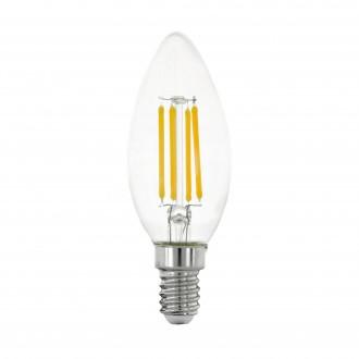 EGLO 11759 | E14 4W -> 40W Eglo gyertya C35 LED fényforrás filament 470lm 2700K 320° CRI>80