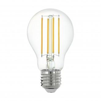 EGLO 11861 | E27 6W -> 60W Eglo normál A60 LED fényforrás filament okos világítás 806lm 2700K szabályozható fényerő, távirányítható CRI>80