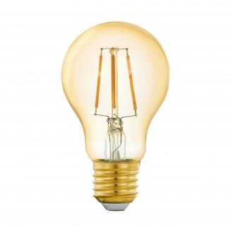 EGLO 11864 | E27 5,5W -> 41W Eglo normál A60 LED fényforrás filament okos világítás 500lm 2200K szabályozható fényerő, távirányítható CRI>80