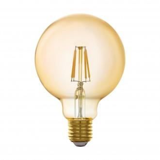 EGLO 11866 | E27 5,5W -> 41W Eglo nagy gömb G95 LED fényforrás filament okos világítás 500lm 2200K szabályozható fényerő, távirányítható CRI>80
