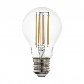 EGLO 12574 | E27 6W -> 60W Eglo normál A60 LED fényforrás CCT filament okos világítás 806lm 2200 <-> 6500K szabályozható fényerő, állítható színhőmérséklet, távirányítható CRI>80