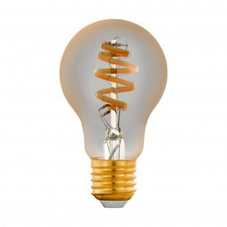 EGLO 12578 | E27 5,5W -> 35W Eglo normál A60 LED fényforrás CCT filament okos világítás 400lm 2200 <-> 6500K szabályozható fényerő, állítható színhőmérséklet, távirányítható CRI>80