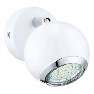 EGLO 31001 | Bimeda Eglo fali lámpa elforgatható alkatrészek 1x GU10 240lm 3000K fehér, króm