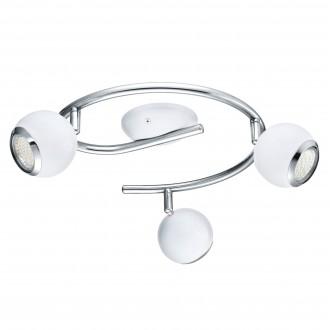 EGLO 31003 | Bimeda Eglo mennyezeti lámpa elforgatható alkatrészek 3x GU10 720lm 3000K fehér, króm