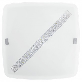 EGLO 31449 | Osseja Eglo fali, mennyezeti lámpa 1x LED 1850lm 3000K fehér, átlátszó