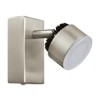 EGLO 31481 | Armento Eglo spot lámpa elforgatható alkatrészek 1x LED 540lm 3000K matt nikkel, fekete