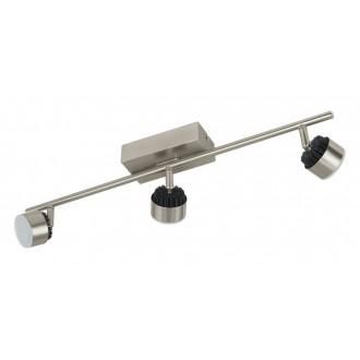 EGLO 31483 | Armento Eglo spot lámpa elforgatható alkatrészek 3x LED 1620lm 3000K matt nikkel, fekete