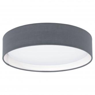 EGLO 31592 | Eglo-Pasteri-G Eglo mennyezeti lámpa 1x LED 950lm 3000K matt szürke, fehér, matt nikkel