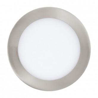EGLO 31672 | Fueva-1 Eglo beépíthető LED panel kerek Ø170mm 1x LED 1350lm 4000K matt nikkel