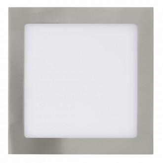 EGLO 31677 | Fueva_1 Eglo beépíthető LED panel négyzet 225x225mm 1x LED 1700lm 3000K matt nikkel, fehér