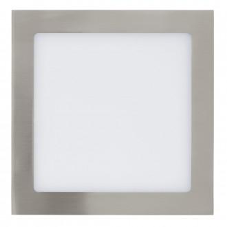 EGLO 31678 | Fueva_1 Eglo beépíthető LED panel négyzet 225x225mm 1x LED 2080lm 4000K matt nikkel