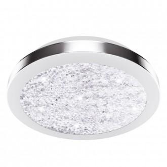 EGLO 32046 | Arezzo-LED2 Eglo mennyezeti lámpa 1x LED 1500lm 4000K matt nikkel, áttetsző, kristály