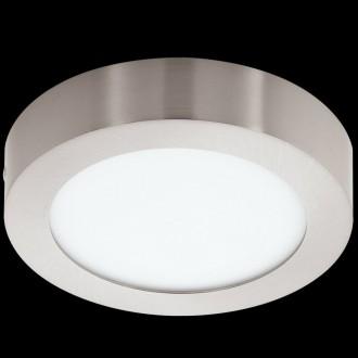 EGLO 32441 | Fueva-1 Eglo fali, mennyezeti LED panel kerek 1x LED 1350lm 4000K matt nikkel, opál