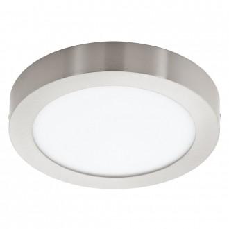 EGLO 32442 | Fueva-1 Eglo fali, mennyezeti LED panel kerek 1x LED 2080lm 4000K matt nikkel, opál