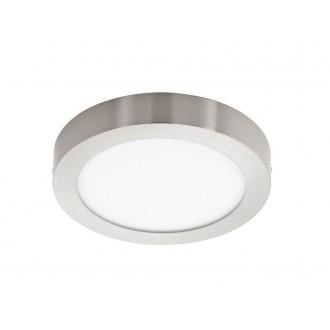 EGLO 32443 | Fueva-1 Eglo fali, mennyezeti LED panel kerek 1x LED 2600lm 4000K matt nikkel, opál