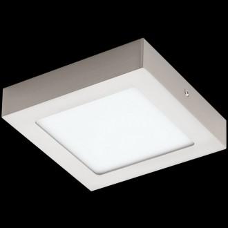 EGLO 32444 | Fueva-1 Eglo fali, mennyezeti LED panel négyzet 1x LED 1350lm 4000K matt nikkel, fehér