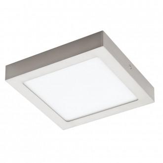 EGLO 32445 | Fueva-1 Eglo fali, mennyezeti LED panel négyzet 1x LED 2080lm 4000K matt nikkel, fehér