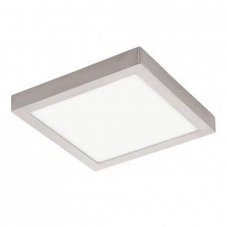 EGLO 32446 | Fueva-1 Eglo fali, mennyezeti LED panel négyzet 1x LED 2600lm 4000K matt nikkel, fehér