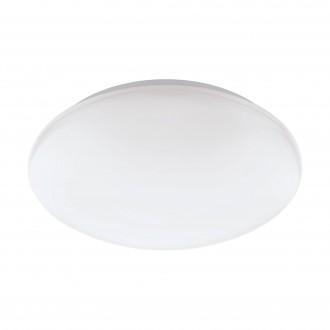EGLO 32589 | EGLO-Connect-Giron Eglo fali, mennyezeti okos világítás kerek szabályozható fényerő, színváltós 1x LED 2100lm 2700 <-> 6500K fehér