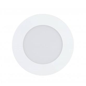 EGLO 32737 | EGLO-Connect-Fueva Eglo beépíthető okos világítás kerek szabályozható fényerő, állítható színhőmérséklet, színváltós Ø120mm 1x LED 700lm 2700 <-> 6500K fehér