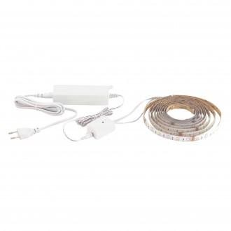 EGLO 32741 | Eglo_LS_Basic Eglo LED szalag RGB lámpa színváltós 1x LED 1200lm 3000K fehér