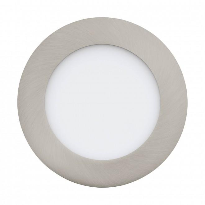 EGLO 32753   EGLO-Connect-Fueva Eglo beépíthető okos világítás kerek szabályozható fényerő, állítható színhőmérséklet, színváltós Ø120mm 1x LED 700lm 2700 <-> 6500K matt nikkel, fehér