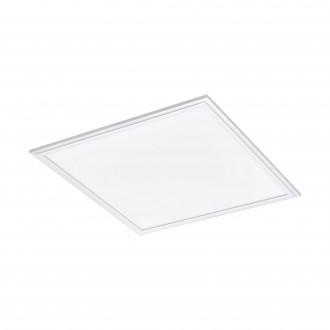 EGLO 33107 | Salobrena-RGBW Eglo álmennyezeti RGBW LED panel négyzet távirányító szabályozható fényerő, színváltós 1x LED 2400lm rgbwK fehér
