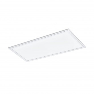 EGLO 33108 | Salobrena-RGBW Eglo álmennyezeti RGBW LED panel téglalap távirányító szabályozható fényerő, színváltós 1x LED 2400lm rgbwK fehér