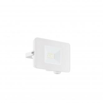 EGLO 33152 | Faedo Eglo fényvető lámpa - Samsung Chip négyzet elforgatható alkatrészek 1x LED 900lm 4000K IP65 fehér, áttetsző
