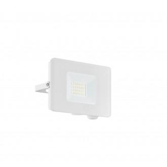 EGLO 33153 | Faedo Eglo fényvető lámpa - Samsung Chip négyzet elforgatható alkatrészek 1x LED 1800lm 4000K IP65 fehér, áttetsző