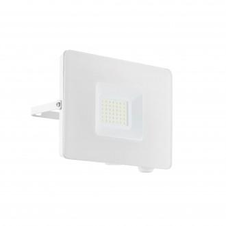 EGLO 33154 | Faedo Eglo fényvető lámpa - Samsung Chip négyzet elforgatható alkatrészek 1x LED 2750lm 4000K IP65 fehér, áttetsző