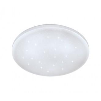 EGLO 33596 | Frania-S Eglo fali, mennyezeti lámpa kerek 1x LED 900lm 4000K fehér, kristály hatás