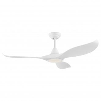 EGLO 35006 | Cirali-52 Eglo ventilátoros lámpa mennyezeti távirányító szabályozható fényerő, állítható színhőmérséklet, időkapcsoló 1x LED 2000lm 2700 <-> 6500K matt fehér