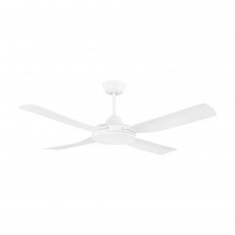 EGLO 35088 | Bondi-1 Eglo ventilátor mennyezeti távirányító időkapcsoló, UV álló műanyag UV matt fehér